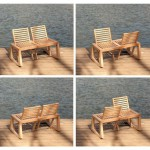 Ghế đôi độc đáo của Chloe de la Chaise