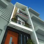 Thiết kế nhà phố trên đất nhỏ và nở hậu