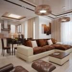 Phòng khách đẹp với nội thất hiện đại