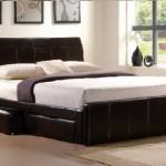 Giường ngủ hiện đại có ngăn kéo lưu trữ