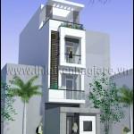 Mẫu thiết kế nhà phố đẹp | Diện tích 4M X 17M