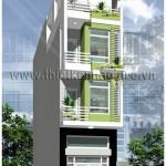 Mẫu thiết kế nhà phố đẹp hiện đại | Mặt tiền 4M