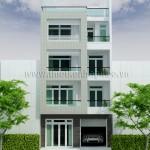 Mẫu thiết kế nhà phố đẹp | Hiện đại | Mặt tiền 7M