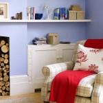 Tận dụng góc tường cho nhà thêm xinh