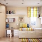 Trang trí phòng ngủ cho trẻ với diện tích 20m2, phong cách hiện đại 2013