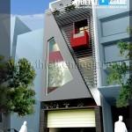 Mẫu thiết kế nhà phố đẹp – hiện đại 6m x 16m