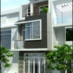 Mẫu thiết kế nhà phố đẹp mặt tiền 5m