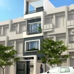 Tư vấn thiết kế nhà phố 3 tầng – Mặt tiền 4m