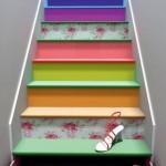 Sáng tạo với cầu thang cho nhà hẹp