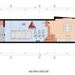 Tư vấn thiết kế nhà phố 4m x 20m