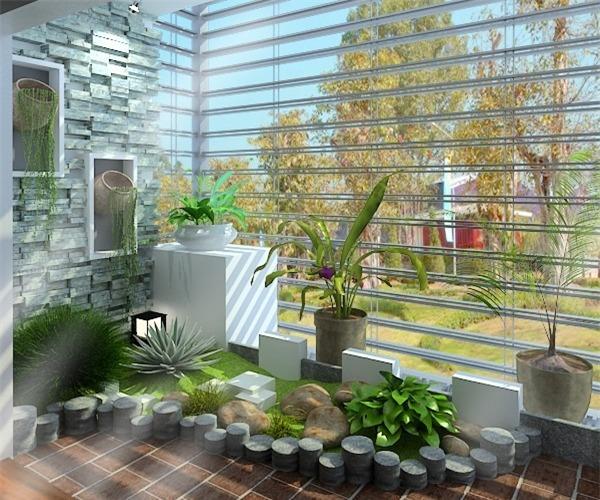 Người mệnh Hỏa nên trồng cây xanh trong nhà.