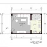 Tư vấn thiết kế nhà phố diện tích 4m x 6m