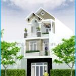 Mẫu thiết kế nhà phố đẹp – mặt tiền 5m