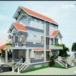 Mẫu thiết kế nhà phố đẹp – cổ điển