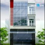 Mẫu thiết kế nhà phố mặt tiền 8m