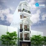 Mẫu thiết kế nhà phố 5m