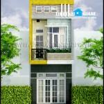 Tư vấn thiết kế nhà phố 2 tầng
