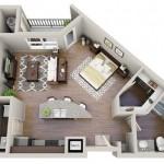 Tư vấn thiết kế nội thất cho căn hộ nhỏ 40m2