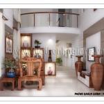 Thiết kế nội thất cho biệt thự vườn
