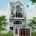 Mẫu thiết kế nhà phố 1 trệt 1 lững 1 lầu