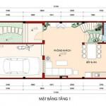 Tư vấn thiết kế nhà phố diện tích 6mx13m – 3 tầng