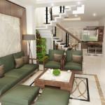 Tư vấn thiết kế nhà phố 4 tầng – Mặt tiền 5m