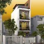 Tư vấn thiết kế nhà phố 4 tầng – diện tích 4x12m