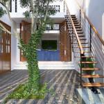 Tư vấn thiết kế nhà 3 tầng với những giếng trời độc đáo