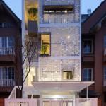 Kiến trúc nhà đẹp với ý tưởng tổ én độc đáo