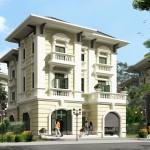 Tìm hiểu về biệt thự kiến trúc pháp cổ điển