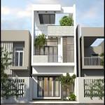 Mẫu thiết kế nhà phố hiện đại 3 tầng 5x17m