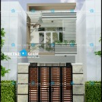 10 thiết kế mẫu nhà phố 2 tầng đẹp