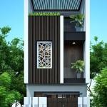 Tư vấn thiết kế nhà phố 4x16m