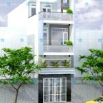 Mẫu thiết kế nhà phố hiện đại 4x18m – 3 tầng