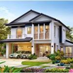 Nhà Phố và xu hướng nhà tầng mái thái