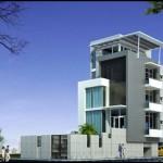 Tư vấn thiết kế biệt thự 3 tầng – Diện tích 8x22m
