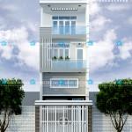 Mẫu thiết kế nhà phố hiện đại – diện tích 5mx17m – 3 tầng 1 lững