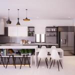 Tư vấn thiết kế nội thất sang trọng cho biệt thự 2 tầng