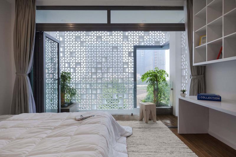Gạch bông gió ứng dụng trong nội thất