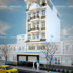 Mẫu thiết kế nhà phố 6 tầng – diện tích 7x15m