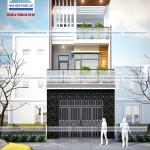 Tư vấn thiết kế nhà phố 5x12m 3 tầng hiện đại